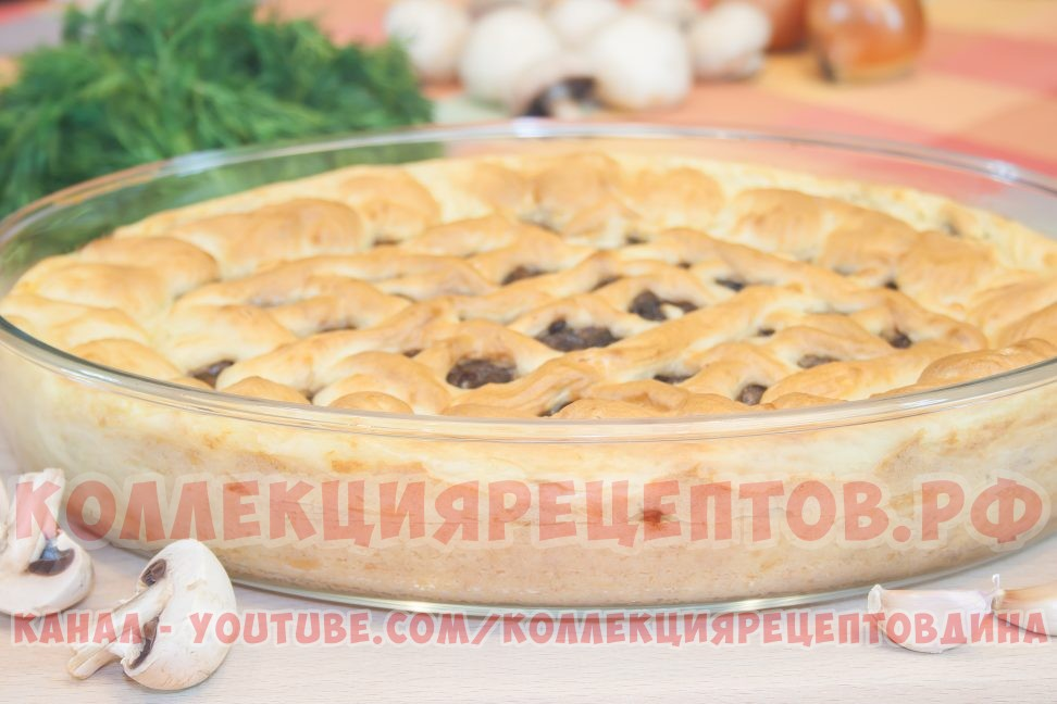 Картофельная запеканка с грибами в духовке - КоллекцияРецептов.рф