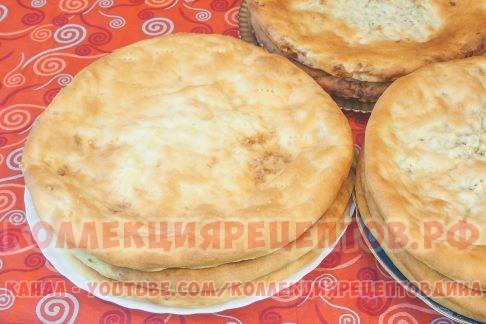 Осетинские пироги пошаговый рецепт с фото