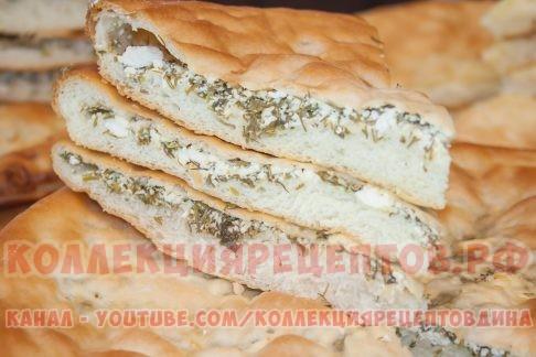 Осетинский пирог с зеленью