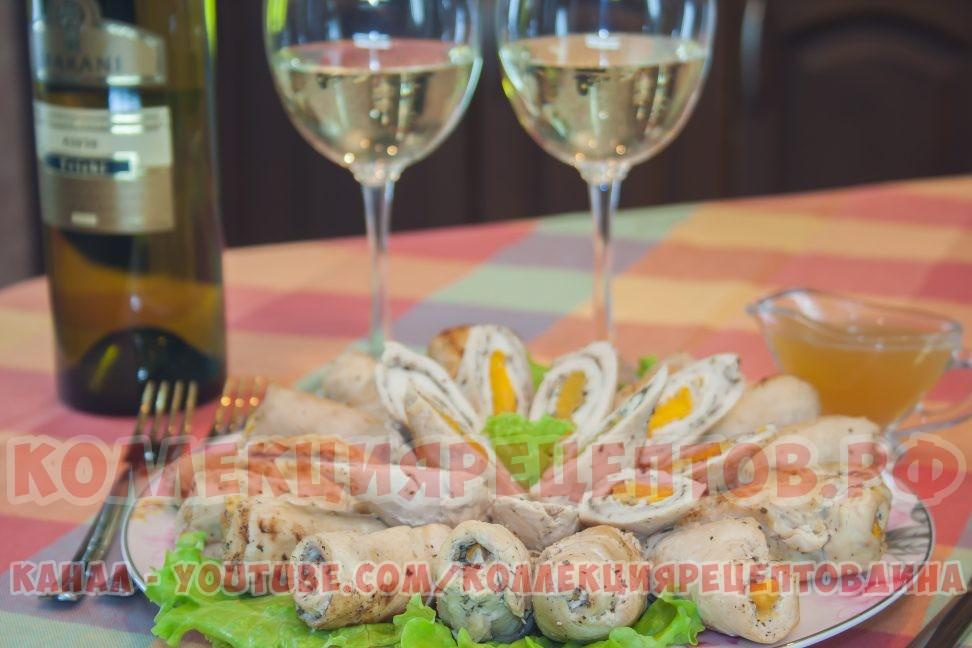 Рулетики из филе в духовке - Коллекция Рецептов