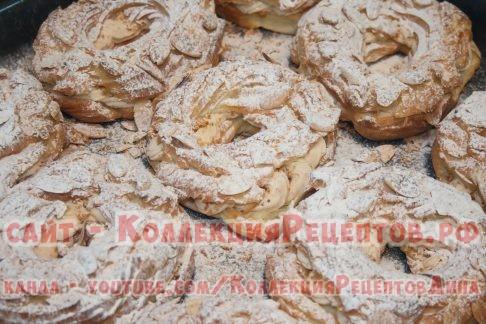 париж брест пирожное - Коллекция Рецептов