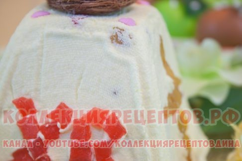 пасха творожная фото - Коллекция Рецептов