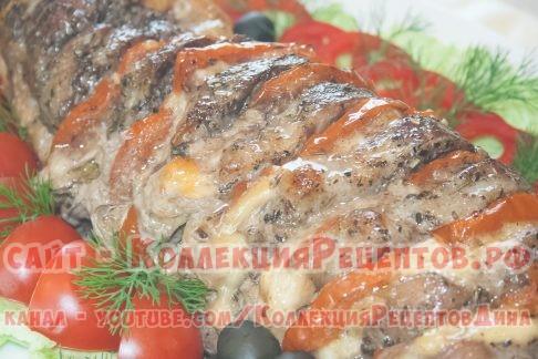 гармошка из мяса свинины - Коллекция Рецептов