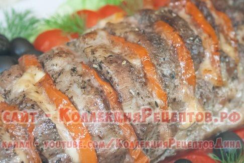 гармошка из свинины в духовке рецепт - Коллекция Рецептов