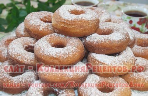 домашние пончики - Коллекция Рецептов