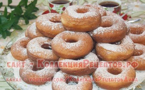 пончики классические - Коллекция Рецептов