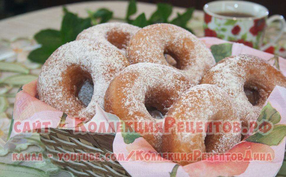 пончики на молоке рецепт с фото - Коллекция Рецептов