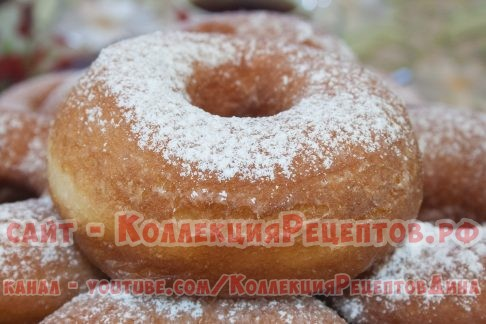 Пончики на дрожжах классический рецепт с фото