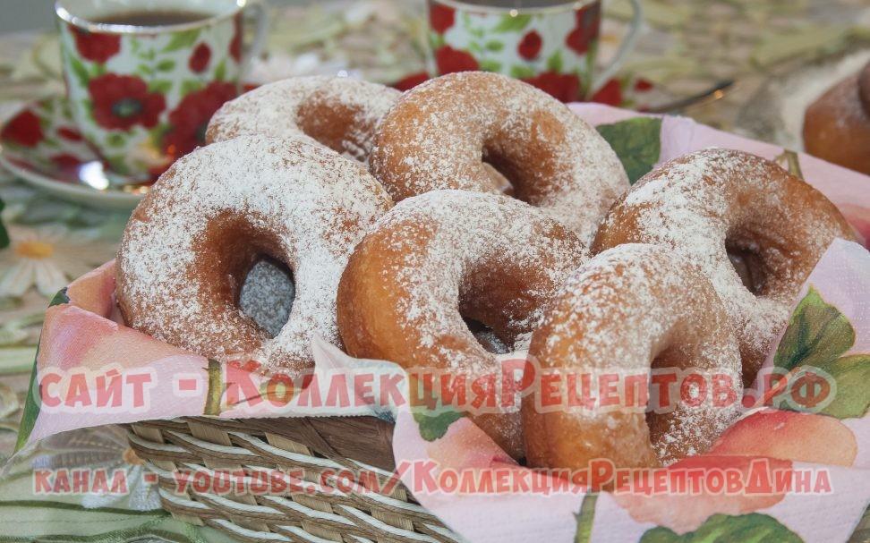 пончики рецепт классический пошаговый рецепт с фото - Коллекция Рецептов