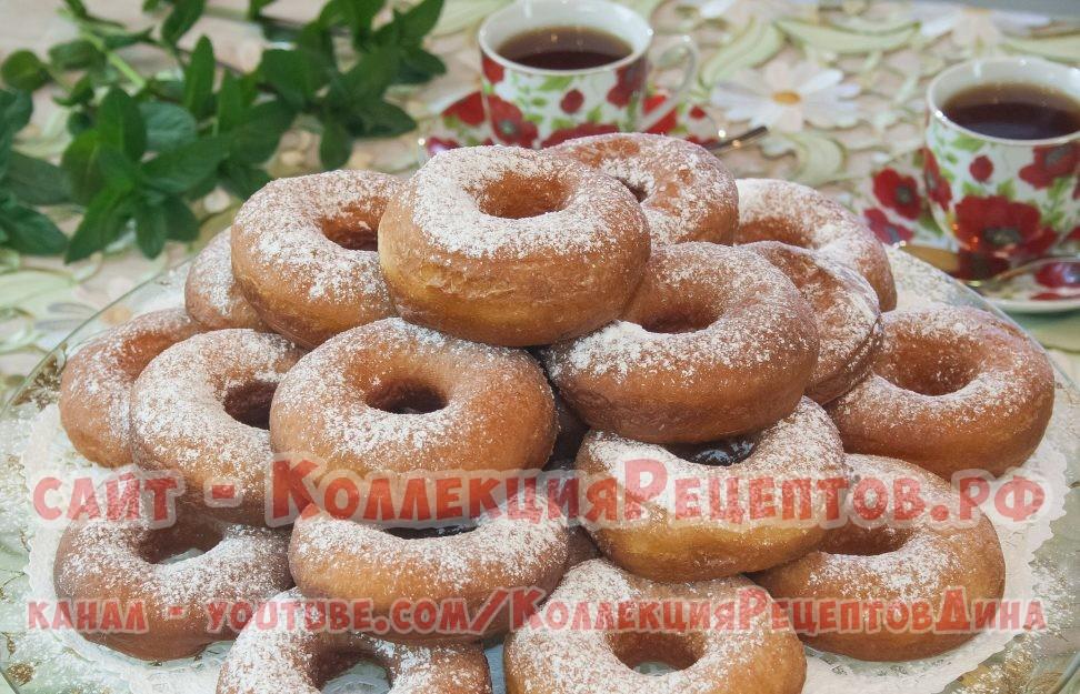 Пончики рецепт классический пошаговый с