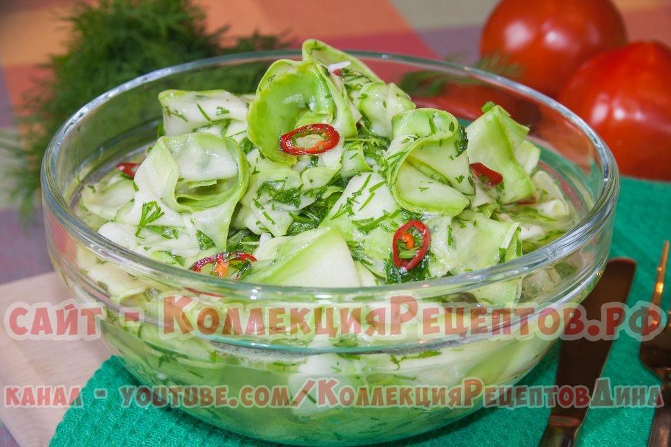 приготовление кабачков маринованных