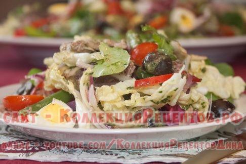 рецепты вкусных салатов - Коллекция Рецептов