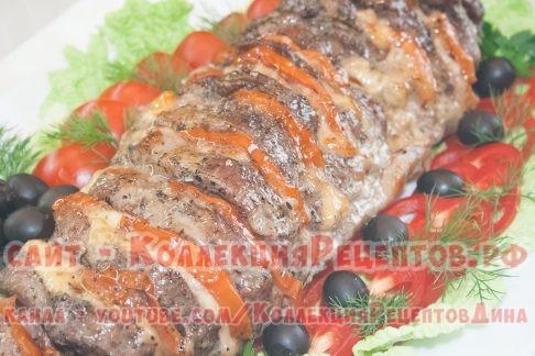 рецепт мясо свинина гармошка - Коллекция Рецептов