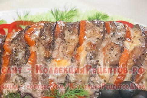 рецепт свинина гармошка с фото - Коллекция Рецептов
