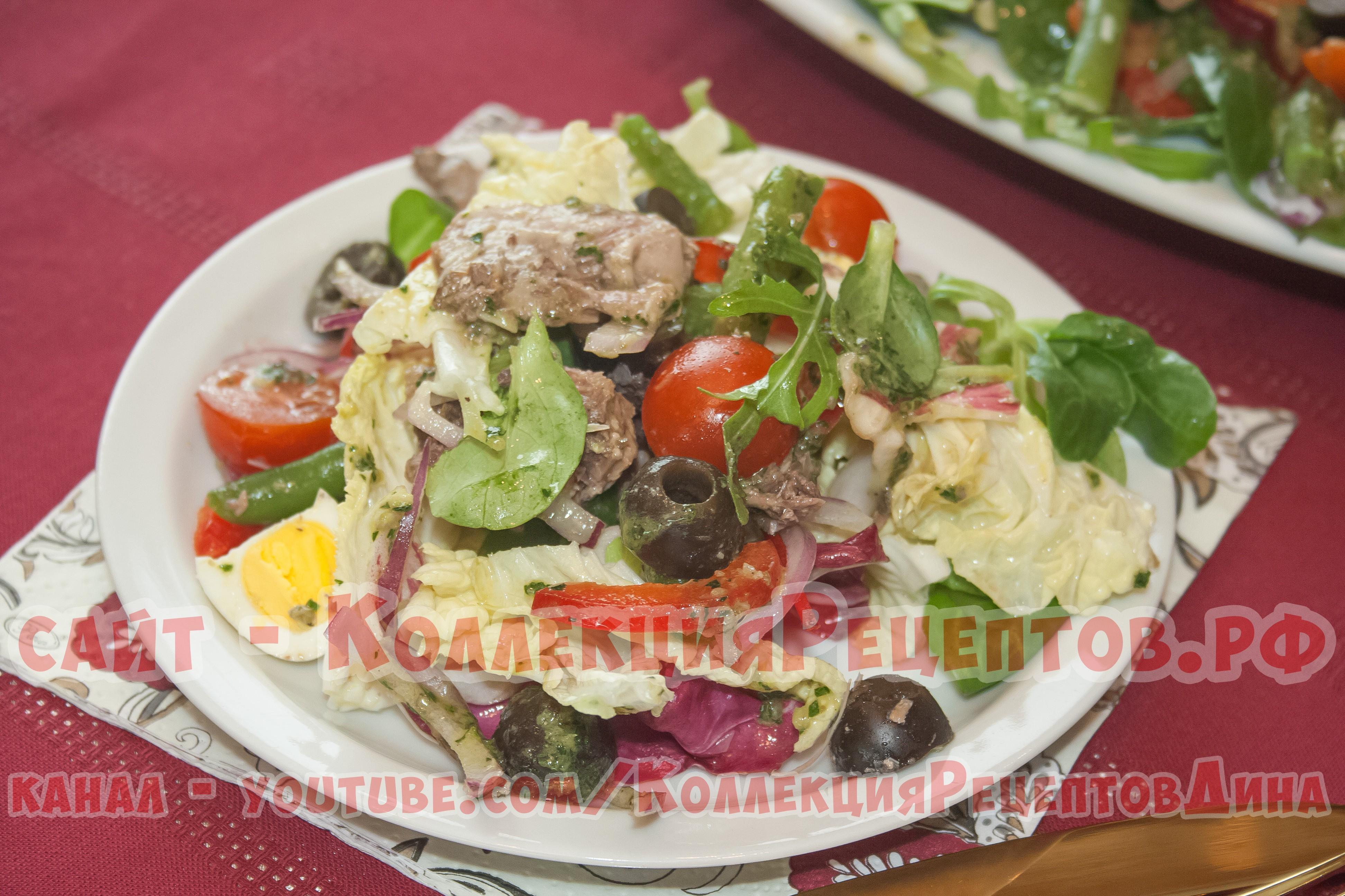 Рецепты салатов и пошагово из языка