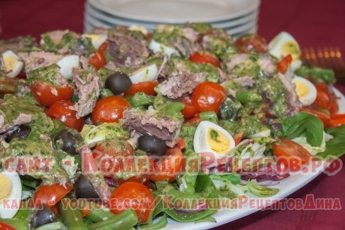 салат с тунцом рецепт - Коллекция Рецептов