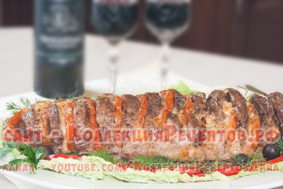 свинина в духовке гармошка рецепты с фото - Коллекция Рецептов