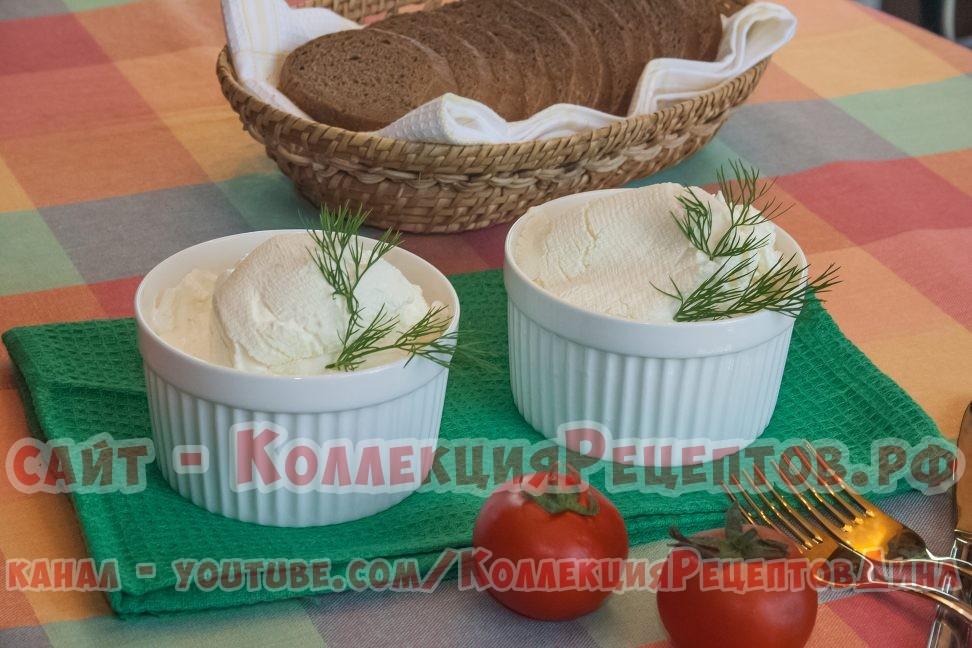 сливочный сыр для крема - Коллекция Рецептов