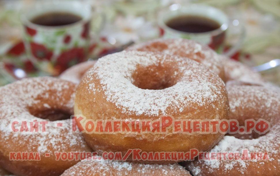 тесто на пончики - Коллекция Рецептов
