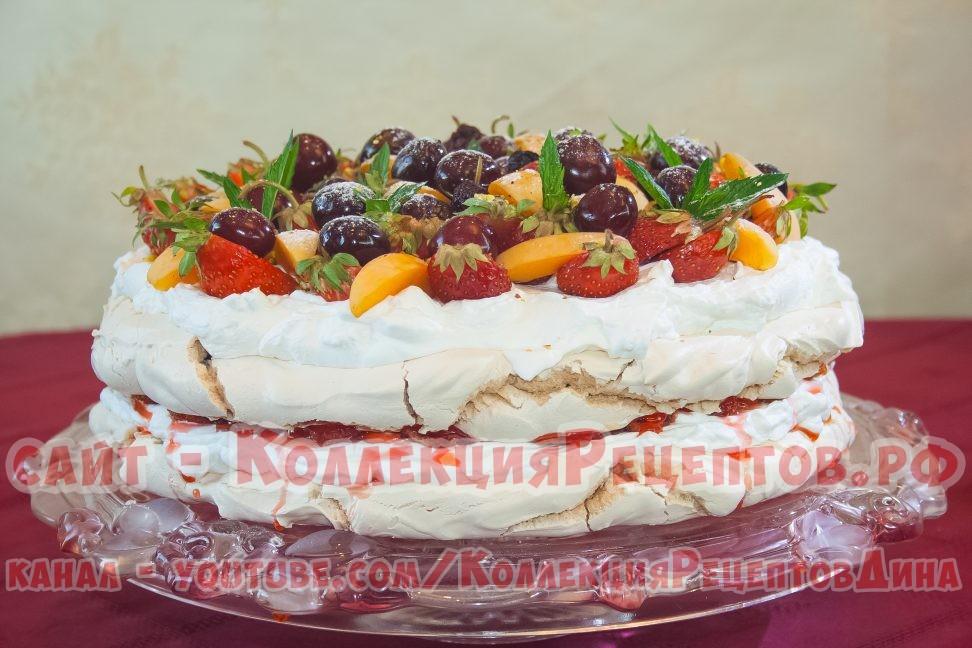 Торт Анна Павлова рецепт вкуснейшего торта