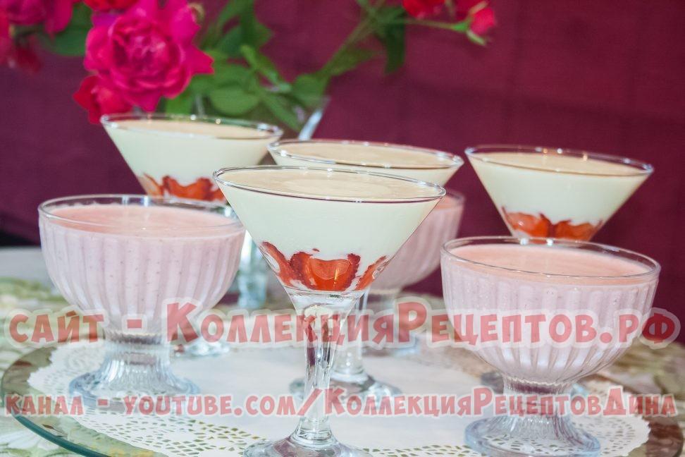 десерты из клубники фото