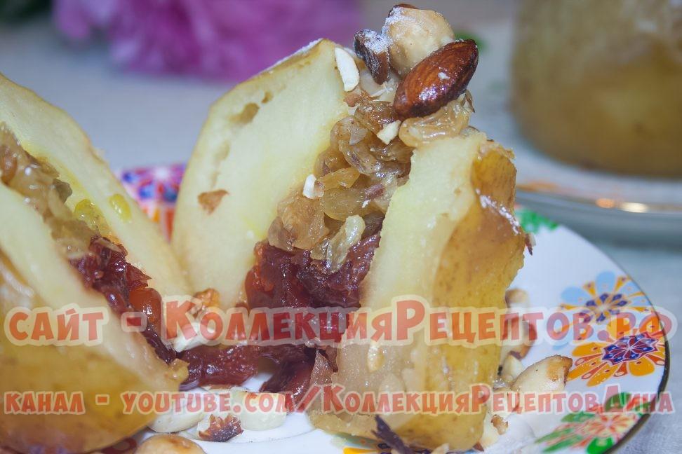 запеченные яблоки в духовке с медом