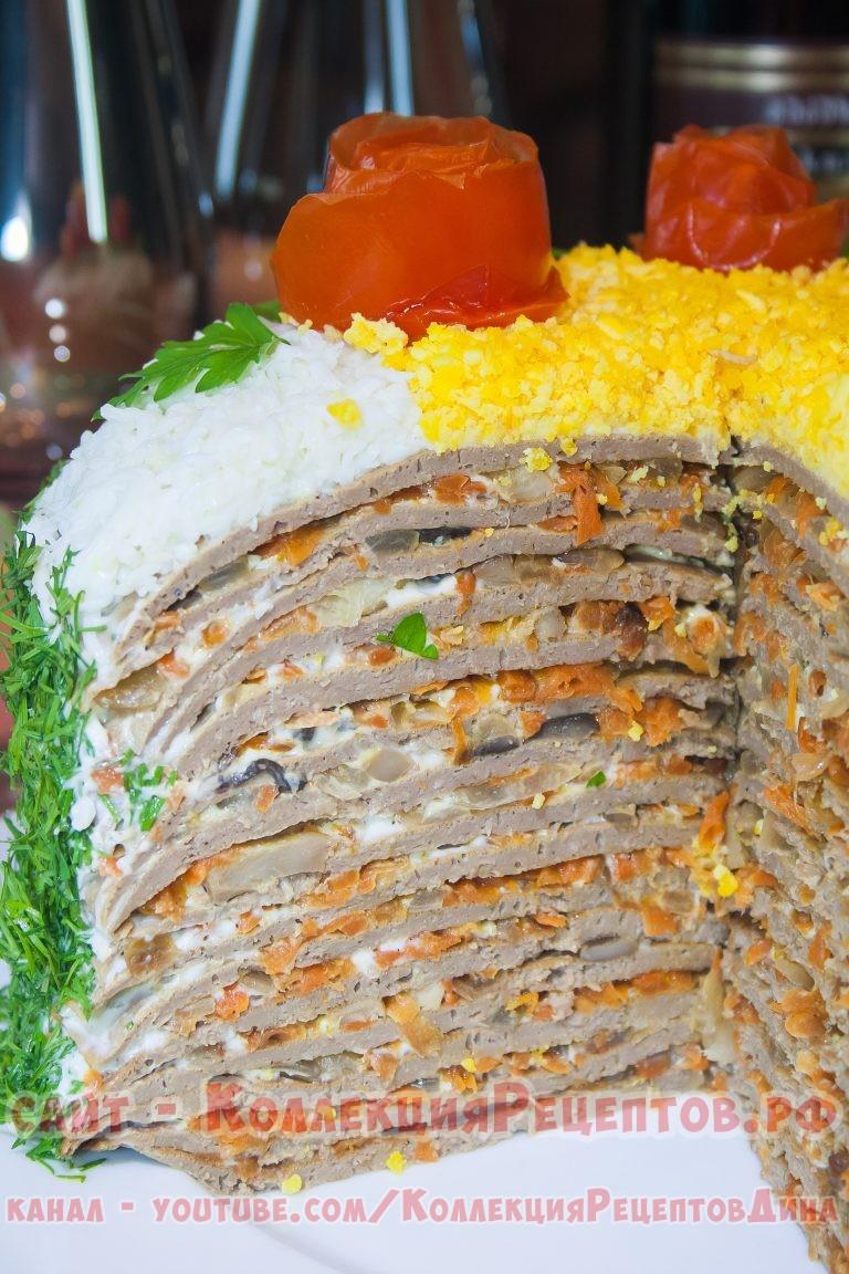 Торт из рыбок рецепт с фото приготовления из печенья