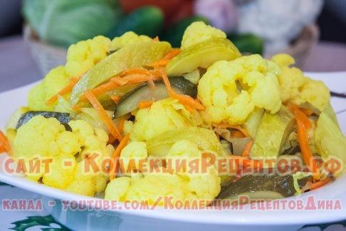 рецепты приготовления овощей