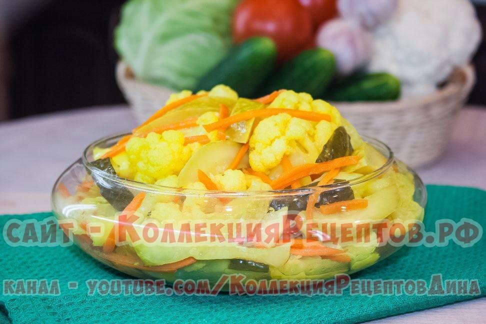 рецепты с овощами пошагово