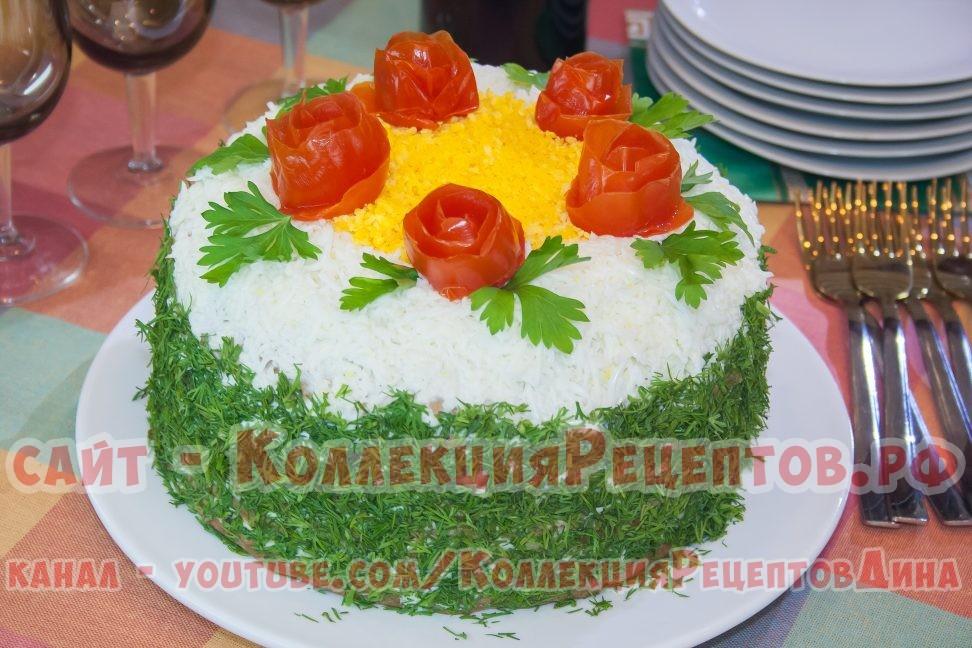 рецепт печеночного торта из печени