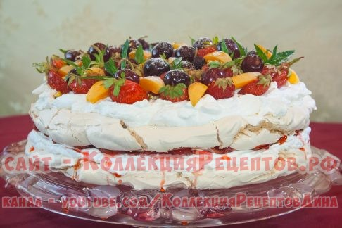 торт анны павловой