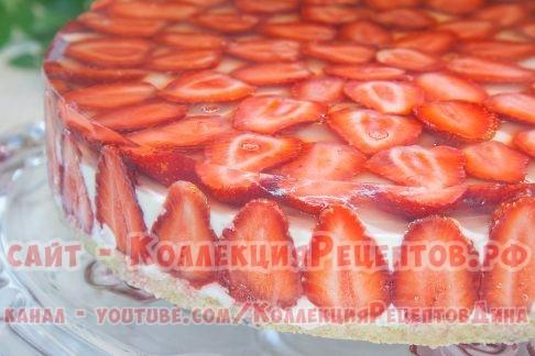 торт без выпечки фото