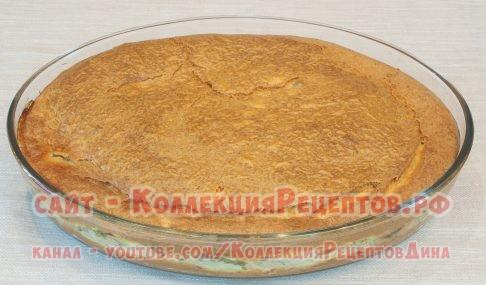 заливной пирог с консервами