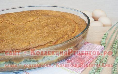 заливной пирог с рыбой