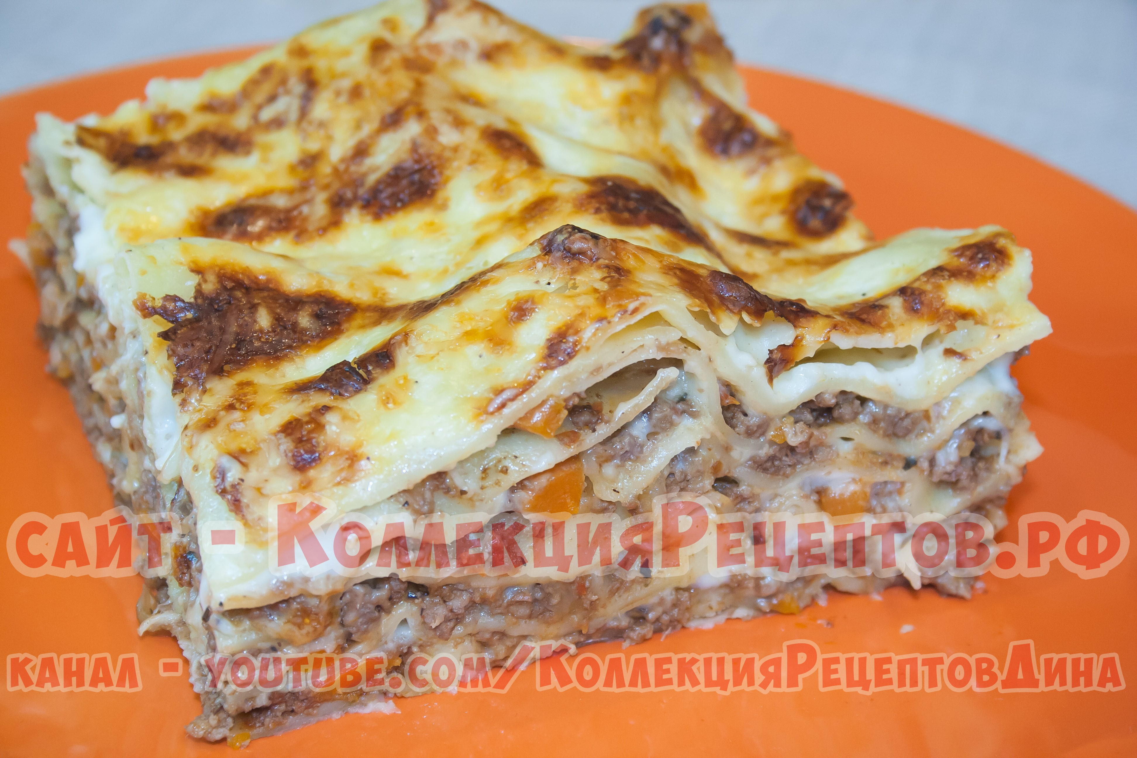Лазанья из кабачка с фаршем рецепт в домашних условиях