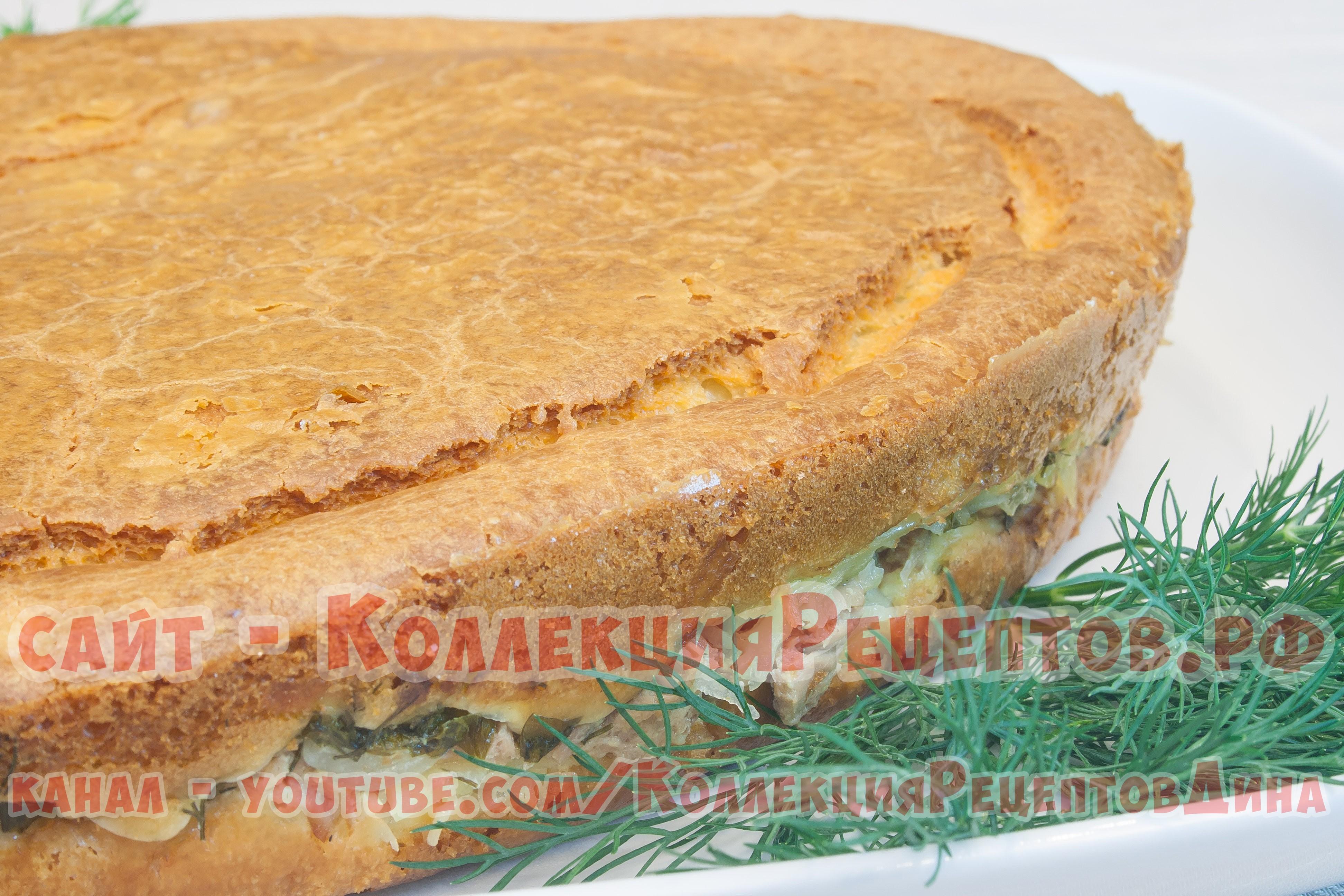 Заливной пирог на майонезе пошагово