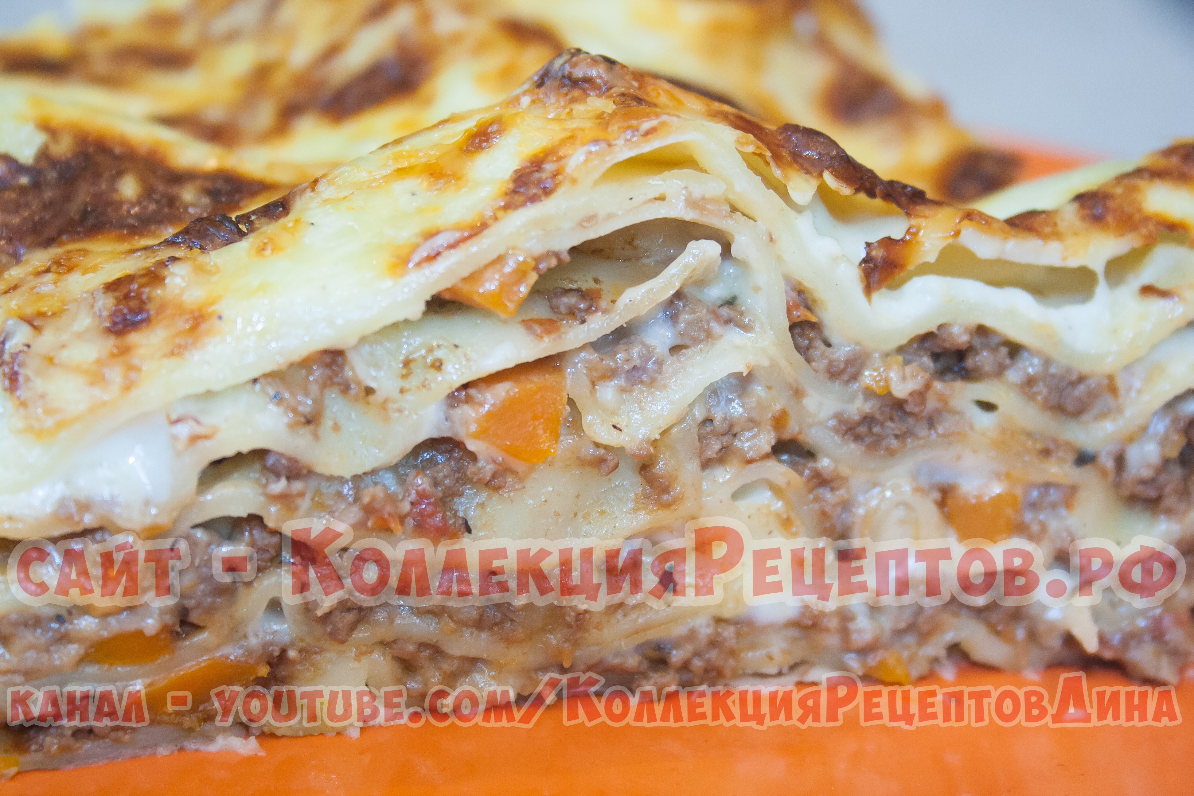 Пошаговый рецепт лазаньи с фаршем в домашних условиях с фото