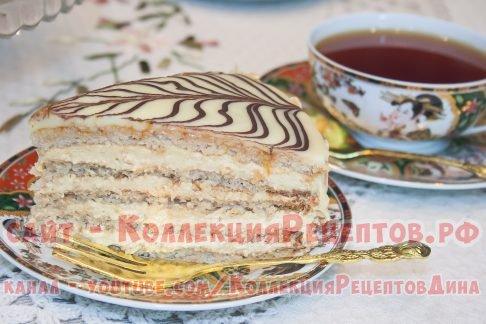 торт эстерхази пошаговый рецепт