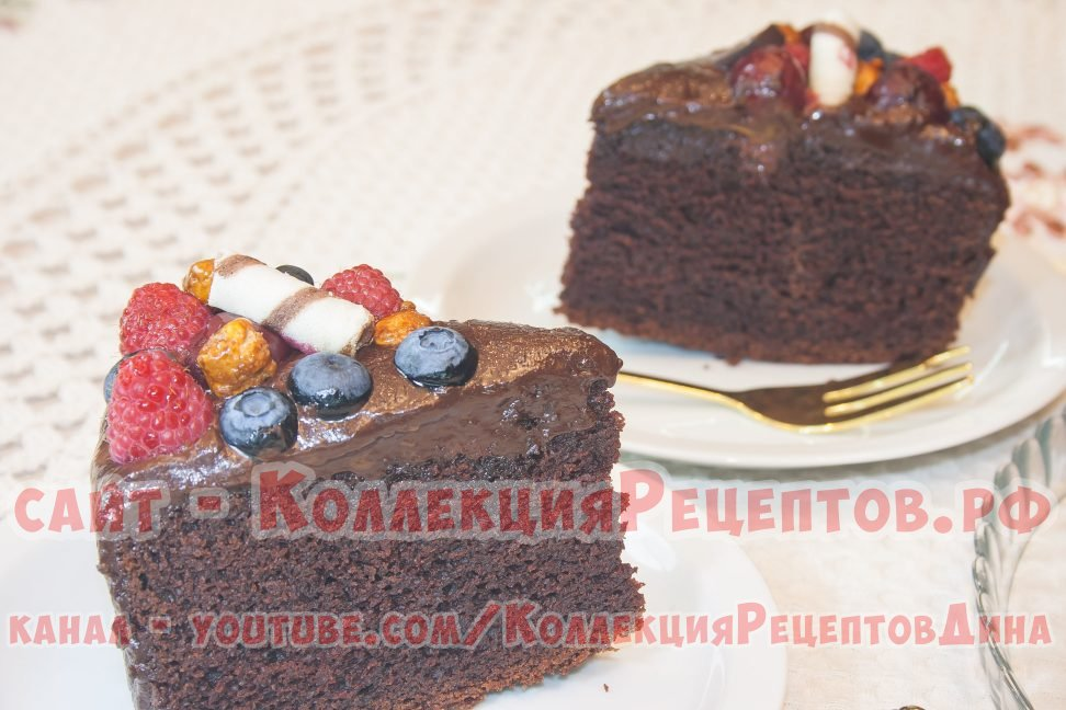 выпечка шоколадный торт