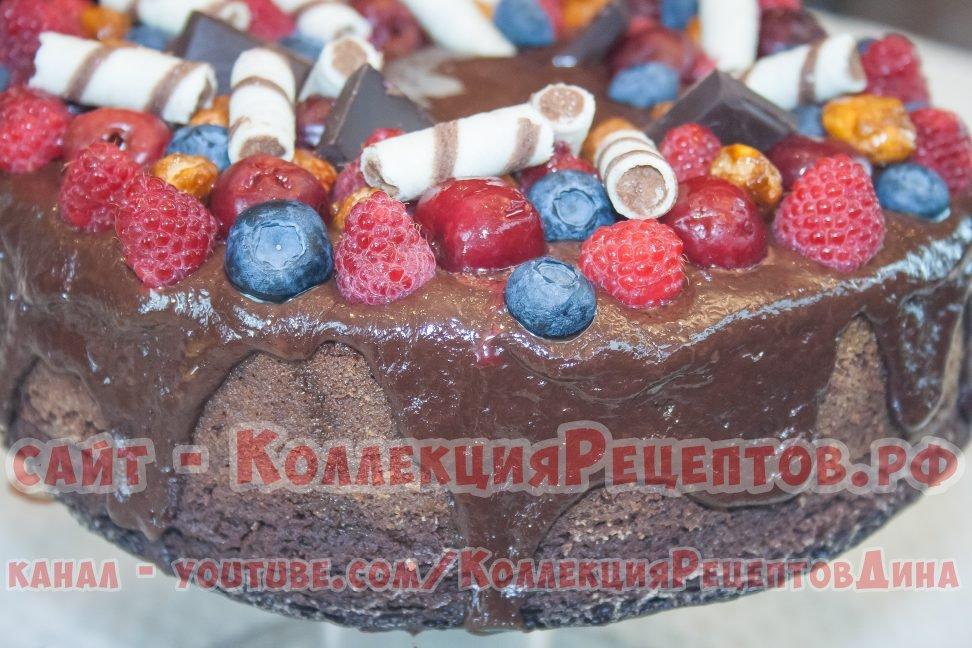 как сделать шоколадный торт