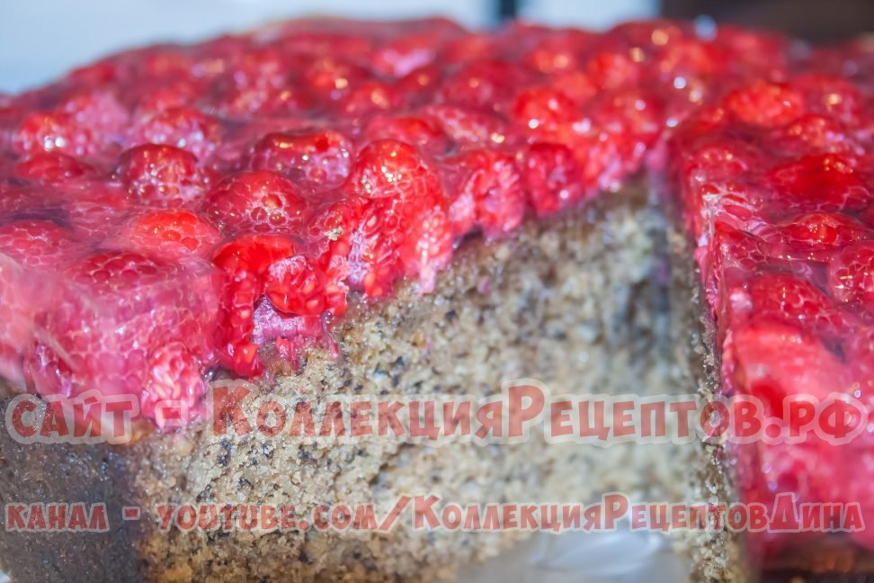 пирог с желе