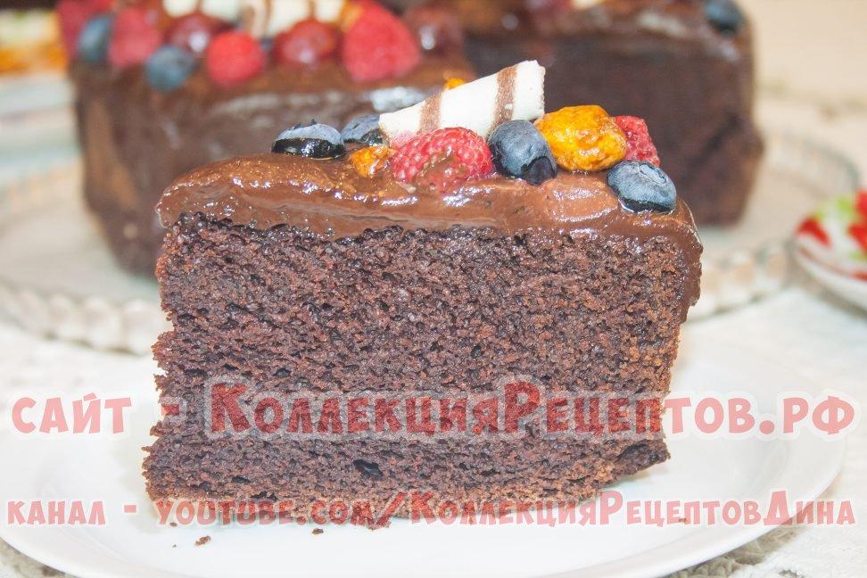 рецепт тортов шоколадных пошагово