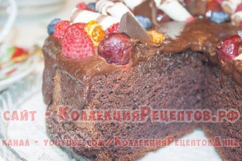 шоколадный торт домашний рецепт