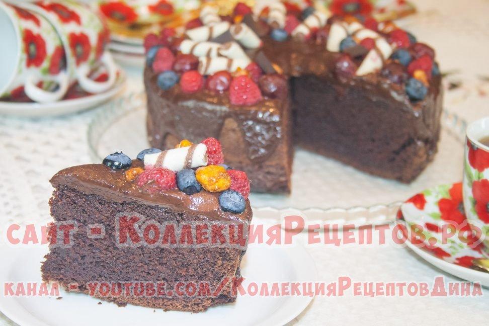 Рецепты шоколадных тортов с пошаговыми фото