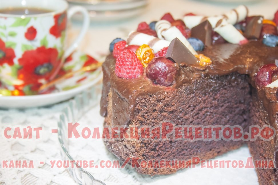 Рецепты шоколадного тортов пошагово