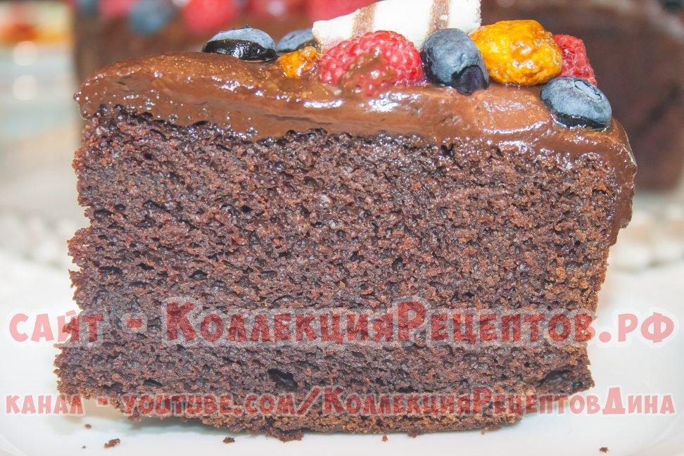 шоколадный торт с фото пошагово