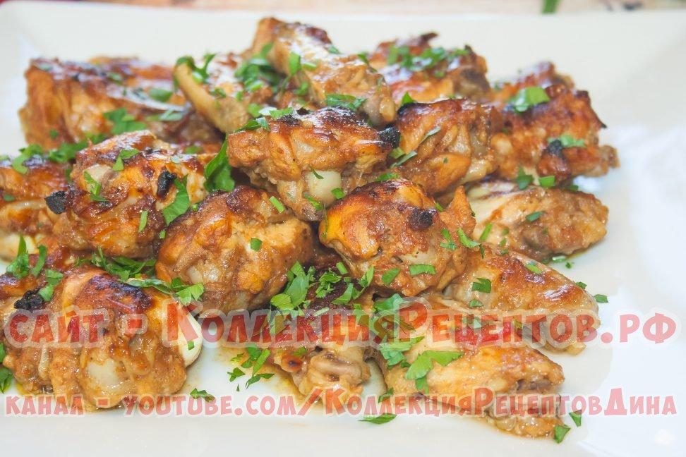 как приготовить крылышки куриные в духовке