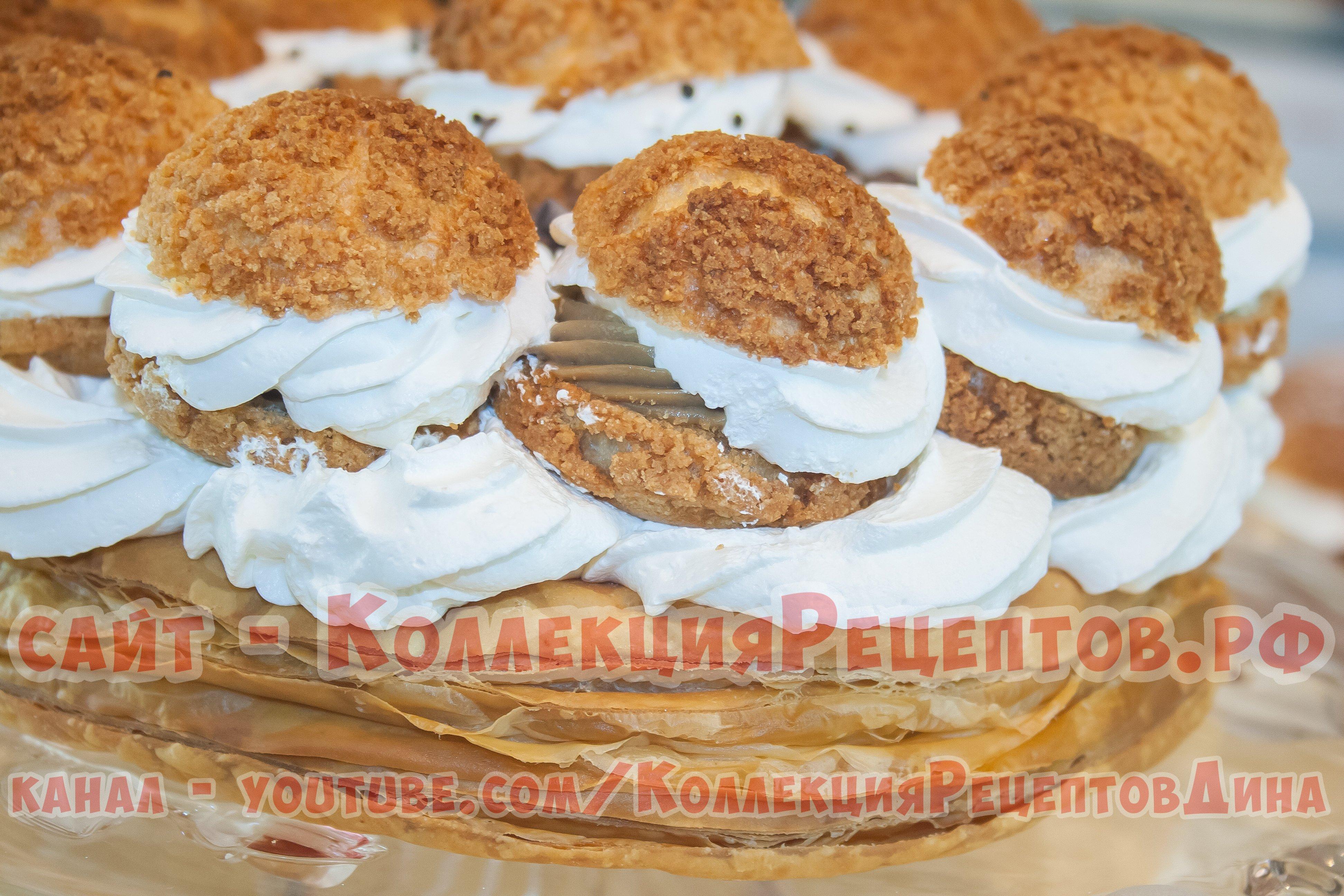 Торт Сент Оноре: рецепт с фото на Все о десертах 33