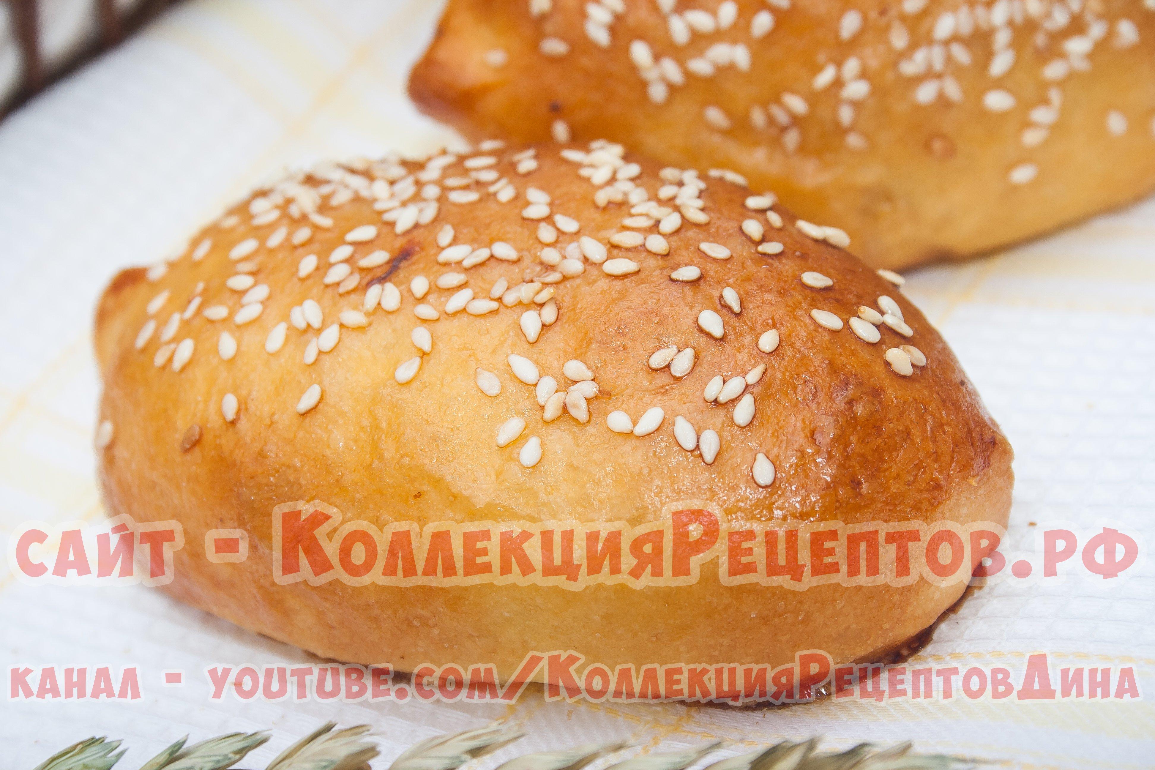 Рецепт пирожков с капустой в духовке из дрожжевого теста пошагово в