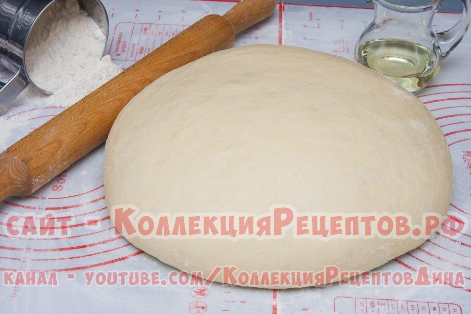Сдобное дрожжевое тесто для несладкой выпечки
